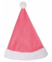 Kerstmuts in roze kleur