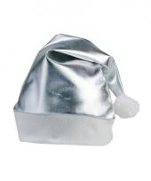 Kerstmuts zilver voor volwassenen