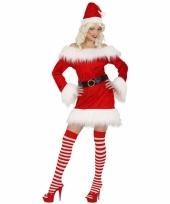 Kerstpakje voor dames rood fluweel