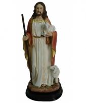 Kerststal beeldje jezus de herder 20 cm