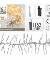 Kerstverlichting cluster warm wit 1152 lichtjes 10105208