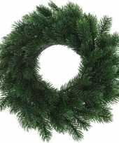 Kerstversiering kerstkransen dennenkransen 35 cm dennentakken
