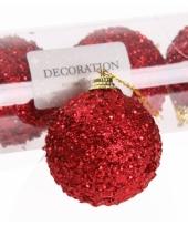 Kerstversiering rode kerstballen 10065740