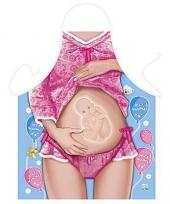 Keukenschort zwanger