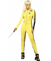 Kill bill outfit voor dames