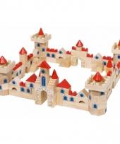 Kinder bouw blokken kasteel 145 delig
