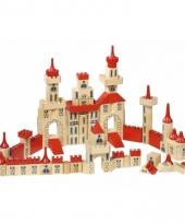 Kinder bouw blokken kasteel 150 delig