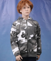 Kinder camouflage sweater