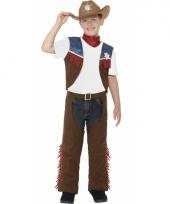Kinder cowboy kostuum