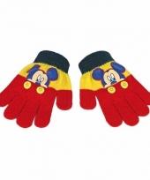 Kinder handschoenen mickey