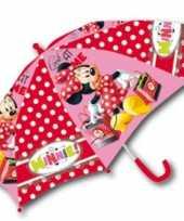 Kinder paraplus disney minnie mouse
