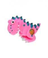 Kinder spaarpot dinosaurus roze