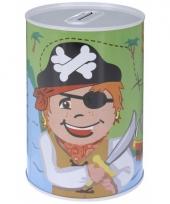 Kinder spaarpot piraten