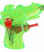 Kinder speelgoed mini waterpistool groen