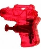 Kinder speelgoed mini waterpistool rood
