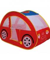 Kinder speeltent rode auto