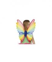 Kinder vleugels gekleurd