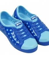 Kinder waterschoen van het merk slazenger in kobalt lichtblauw