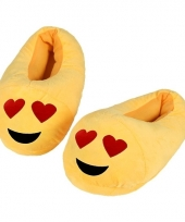 Kinderen verliefde smiley pantoffels