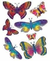 Kinderkamer raamstickers vlinders