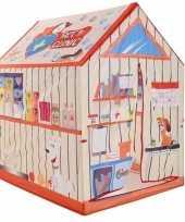 Kinderkamer speeltent dierenkliniek 201 cm