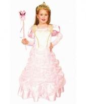 Kinderkostuum roze prinsessenjurk 10065242