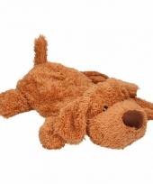 Kinderkruik bruine hond