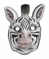 Kindermasker zebra