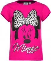 Kindershirt minnie mouse fuchsia