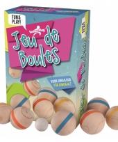 Kinderspeelgoed jeu de boules van hout