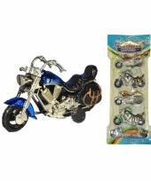 Kinderspeelgoed motor set 4 stuks