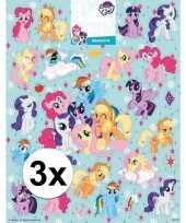 Kinderspeelgoed my little pony stickervellen xl