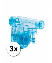 Kinderspeelgoed waterpistooltjes 5 cm 3 st