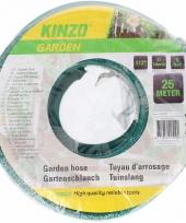 Kinzo tuinslang groen zwart 25 meter
