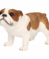Kleine beeldje bulldog 12 cm