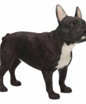 Kleine beeldje franse bulldog 12 cm