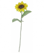 Kleine kunst zonnebloem 38 cm