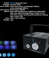 Kleine led laser met blauwe licht