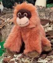 Kleine pluche orang utan 13 cm