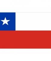 Kleine vlag van chili 60 x 90 cm