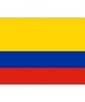 Kleine vlag van colombia 60 x 90 cm