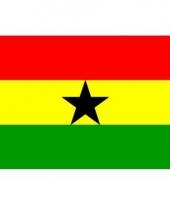 Kleine vlag van ghana 60 x 90 cm