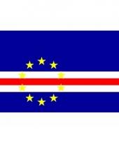 Kleine vlag van kaapverdie 60 x 90 cm
