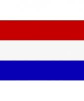 Kleine vlag van nederland 60 x 90 cm