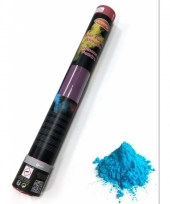 Kleurenpoeder shooters blauw