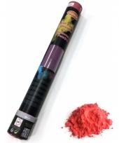 Kleurenpoeder shooters rood