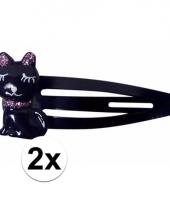 Klikklak speldjes zwart katje poesje