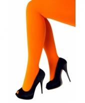 Knal oranje dames panty 60 denier