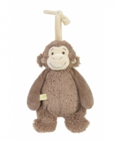 Knuffel aapje met muziek van happy horse