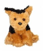 Knuffel hondje fox terrier 15 cm